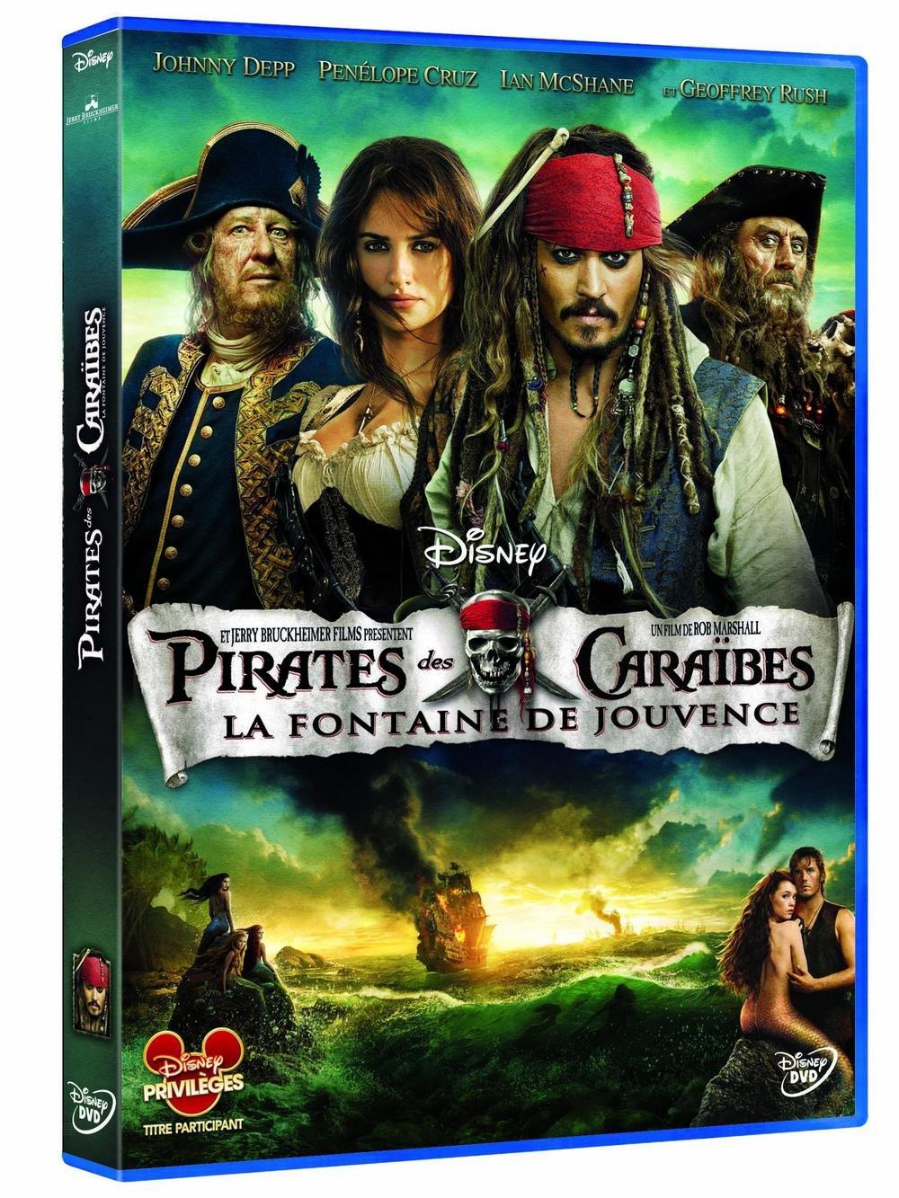 Pirates des Caraïbes 4 : La Fontaine de Jouvence / Rob Marshall, Réal. | Marshall, Rob. Monteur