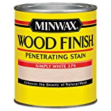 Minwax Wood Finish 227654444, 1/2 Pint, Simply White (Color: Simply White, Tamaño: 1/2 Pint)