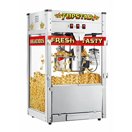 Great Northern Popcorn 6208 TopStar Twelve OZ Machine Antique Style Popcorn Popper Machine