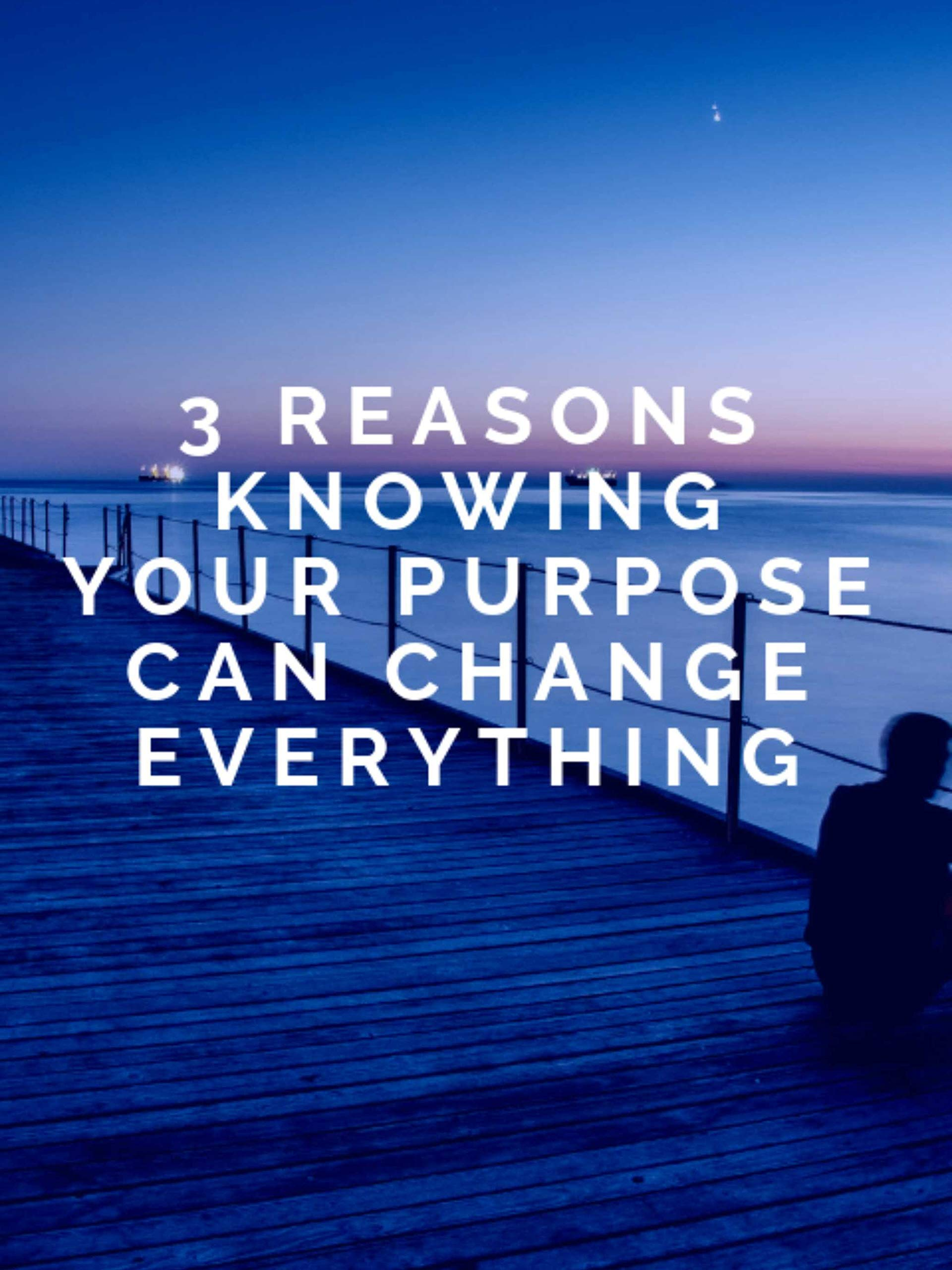 Clip: 3 Reasons Knowing Your Purpose Can Change Everything on Amazon Prime Video UK