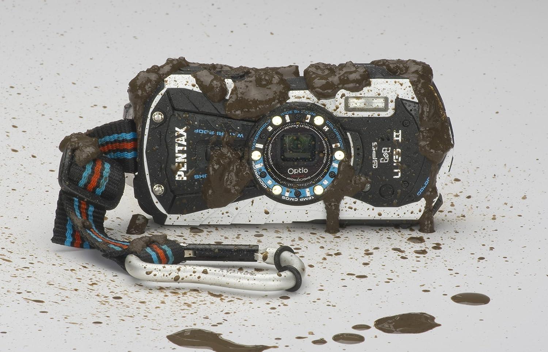 Máy ảnh chống nước Pentax Optio WG-2 GPSWhite Adventure Series 16 MP