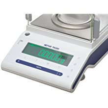 Mettler Toledo MS204S NewClassic MS Analytical Balance with Draft Shield, 220g Capacity, 0.0001g Readability