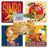Disney Lion King: Hakuna Matata Stickers - Party Favors - 100 Per Pack