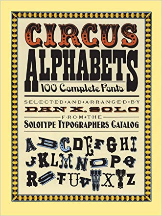 Circus Alphabets (Lettering, Calligraphy, Typography)