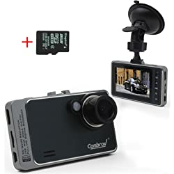 Conbrov T89 1080P Full Hd Car Video Dash Camera
