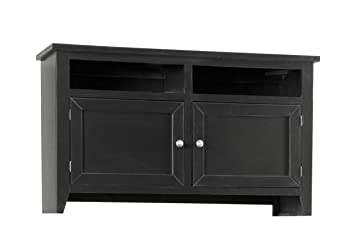 54 in. TV Console Table in Midnight Finish