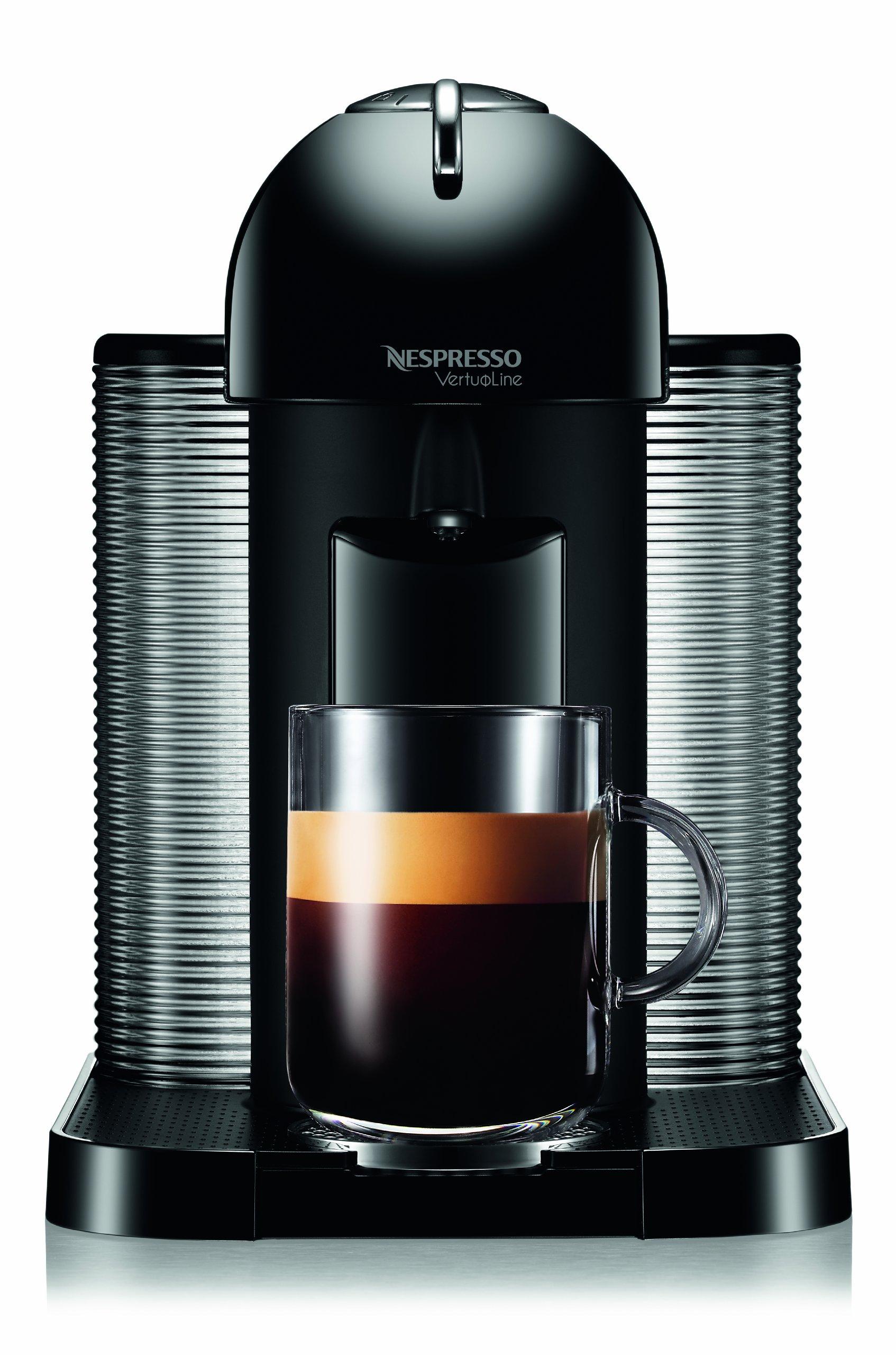 Galleon - Nespresso VertuoLine Coffee And Espresso Maker With Aeroccino Plus Milk Frother, Black