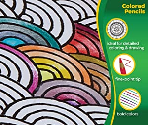 Crayola Colored Pencils, No Repeat Colors, Perfect For Coloring Books, 120Count, Gift