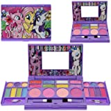 Townley Girl My Little Pony Beauty Kit for Girls, Includes: 22 Lip Glosses, 4 Blushes, and More