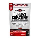 German Creatine | 120 servings (600g) Creapure | Pure german creatine monohydrate from Creapure | Safest and Purest Creatine (Tamaño: 600g)