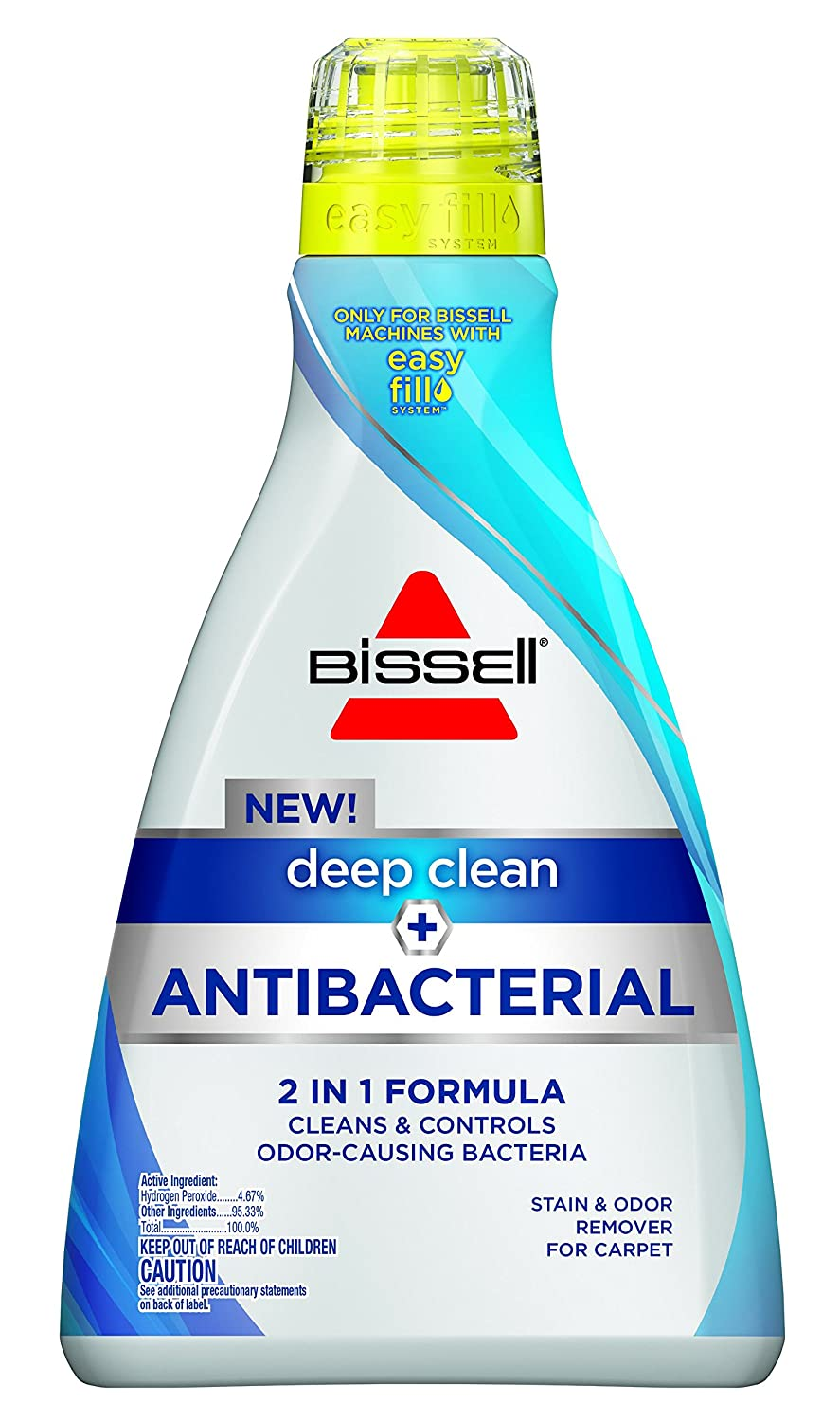 Bissell 1568A Deep Clean Plus Antibacterial Full Size Carpet Cleaning Formula