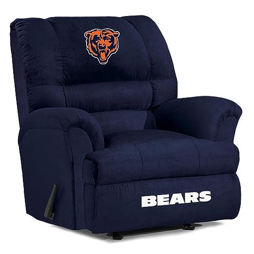 NFL Chicago Bears Big Daddy Microfiber Recliner