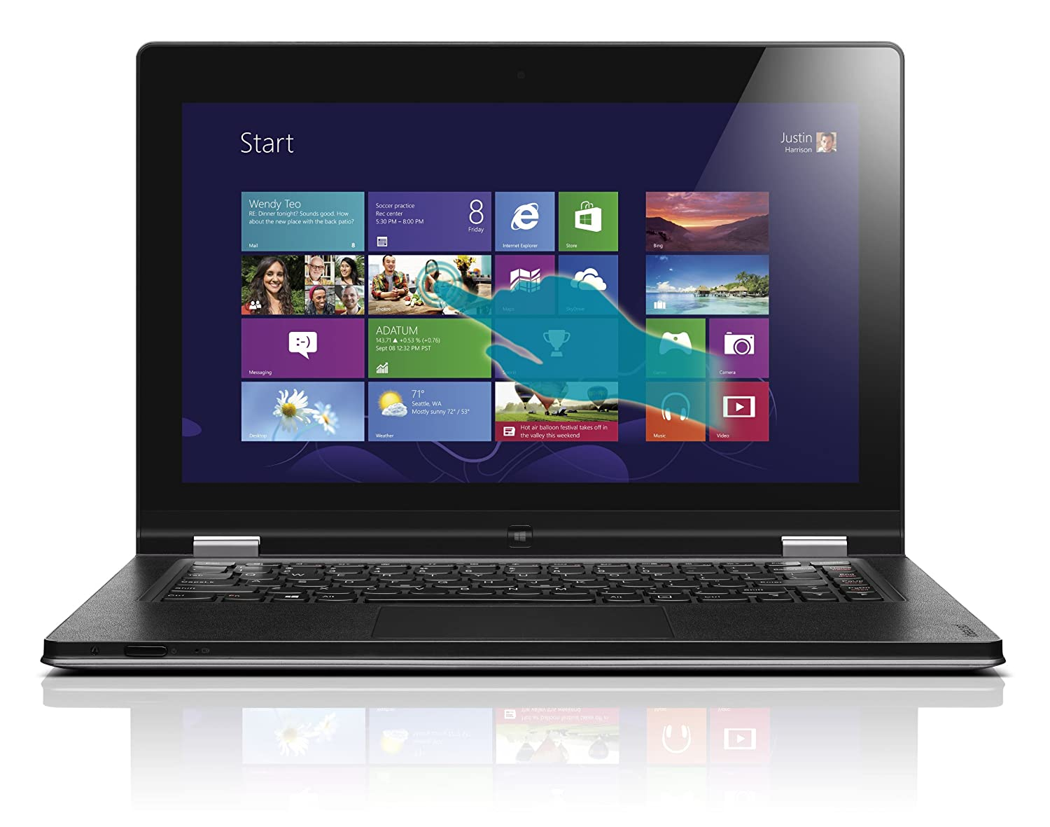 Lenovo IdeaPad Yoga 13 13.3-Inch Convertible Touchscreen Ultrabook ($799.99)