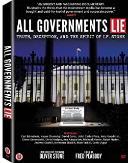 Book Cover: All Governments Lie