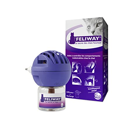 Ceva - FELIWAY - Diffuseur anti-stress 50ml - Chat - Céva