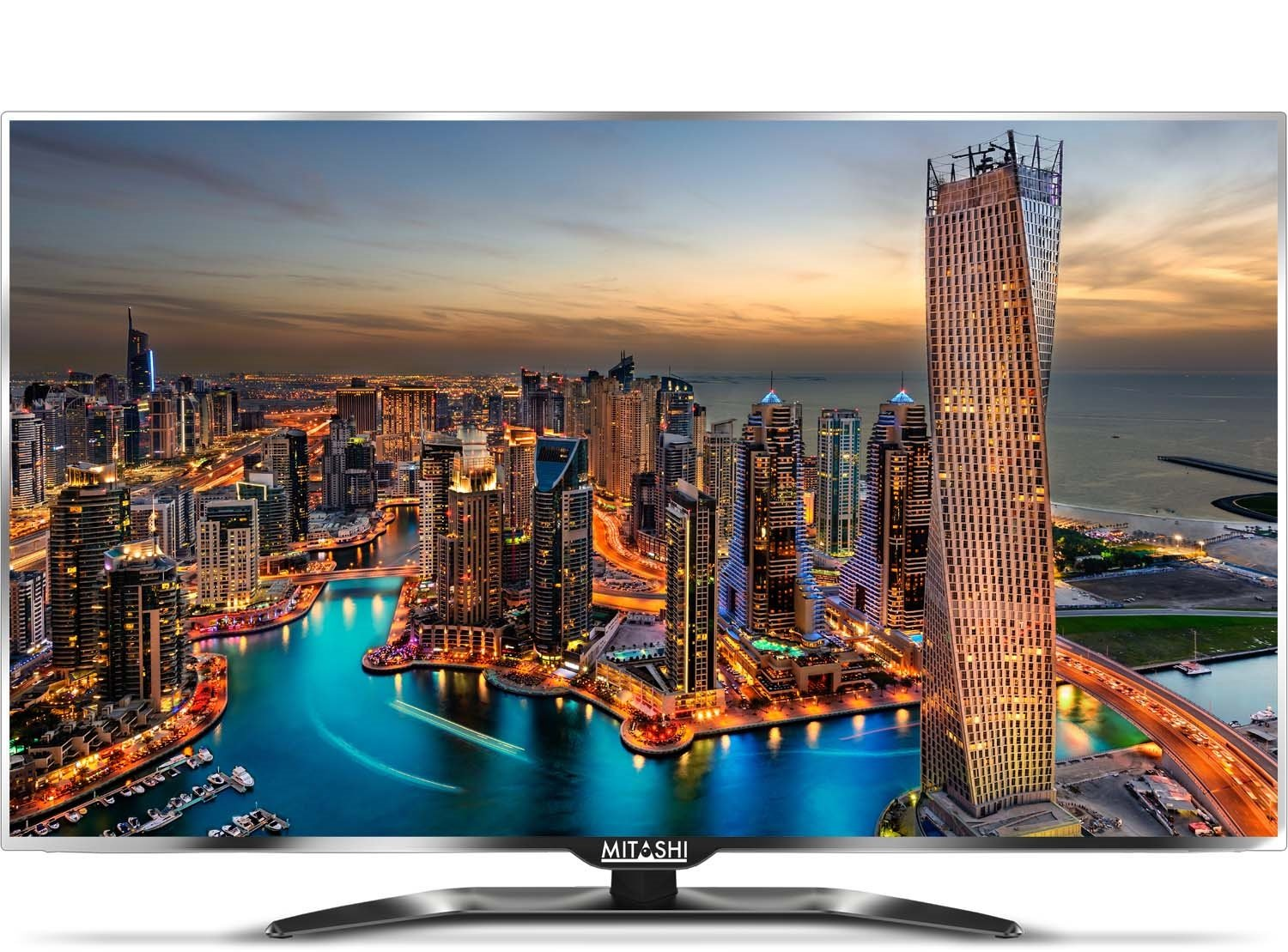 50% Off Or More Off On Televisions By Amazon | Mitashi MiE050v014K 127cm (50 inches) 4K Ultra HD LED TV (Silver/Black) with 3 years warranty @ Rs.51,436