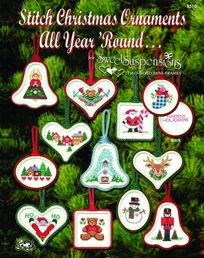 2 easy street crafts christmas ornament designs package