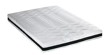 Crown Bedding J5171001 Superb Latex Matratze, RG75, H2, 5 Komfortzonen, 90 x 200 cm