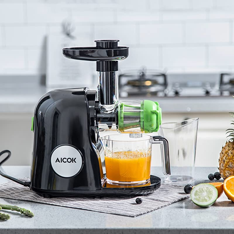 Aicok Slow Masticating Juicer Extractor via Amazon