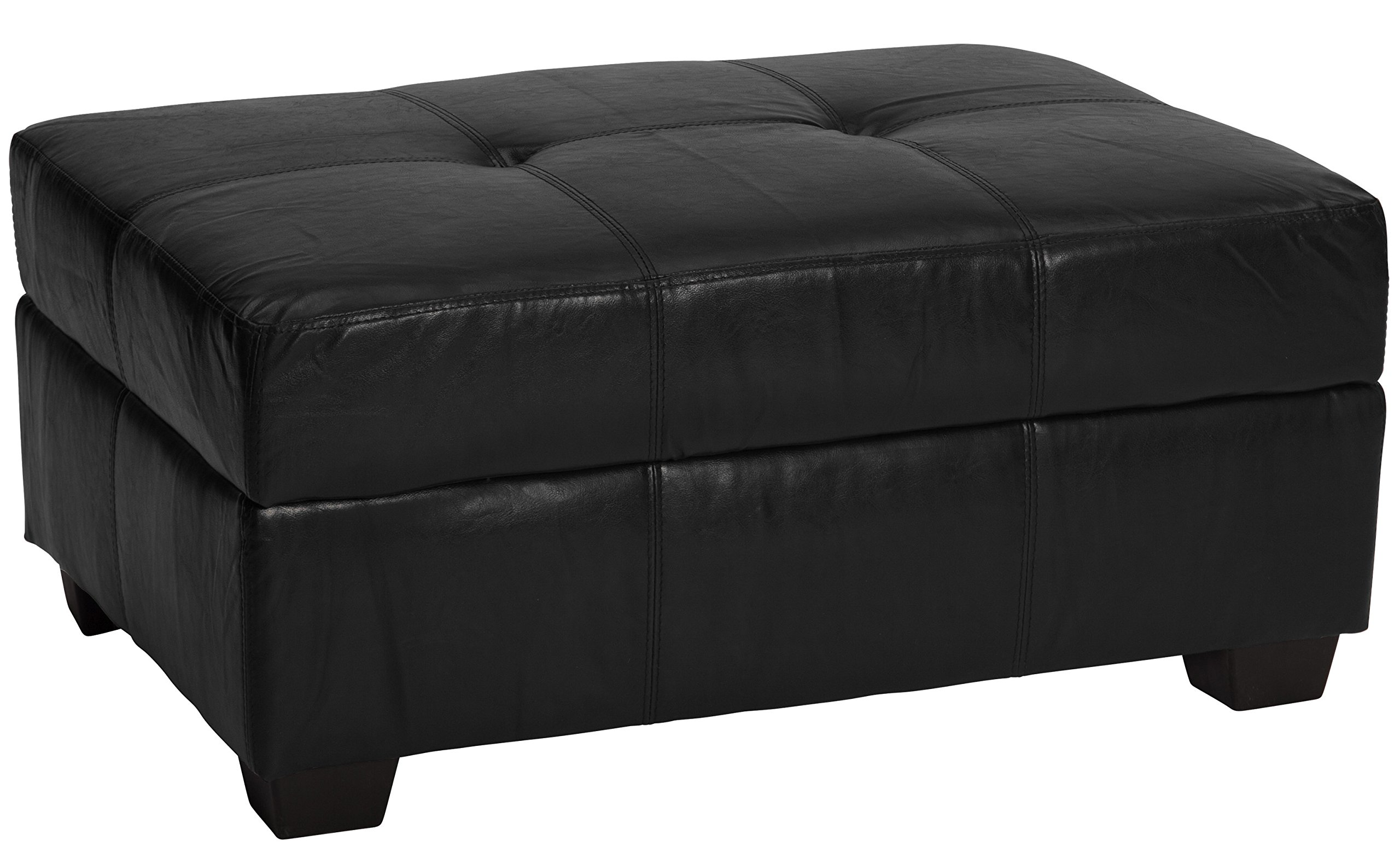 Epic Furnishings Microfiber Upholstered 36 By 24 By 18 Inch Storage Ottoman Bench Suede