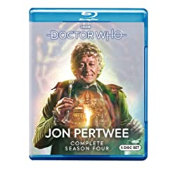 Doctor Who: Jon Pertwee Complete Season Four [Blu-ray]