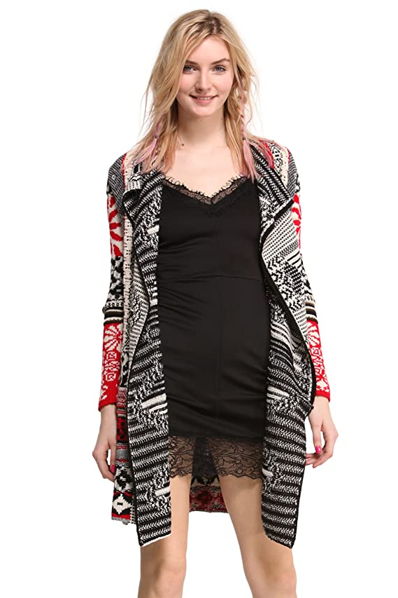 Desigual Women's Mounty Flat Knitted Pullover Long Sleeve