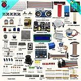 Adeept New Ultimate Starter Learning Kit for Raspberry Pi 3 2 Model B/B+ Python ADXL345 GPIO Cable DC Motor