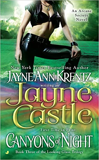 Canyons of Night (Looking Glass Trilogy (Large Print)) written by Jayne Castle