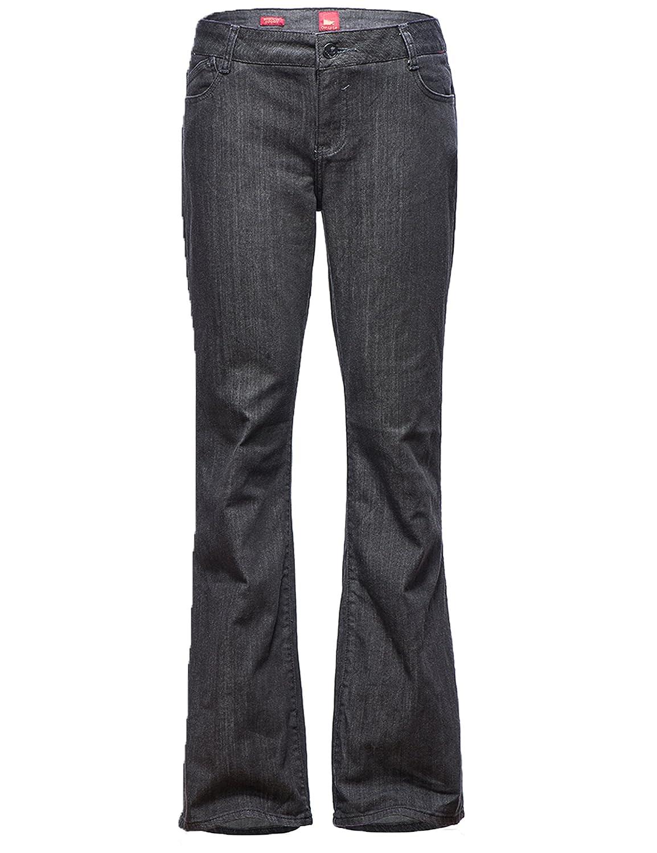 Women's Bootcut Relaxed Fit Straight-leg Jean lee men s modern series slim fit tapered leg jean