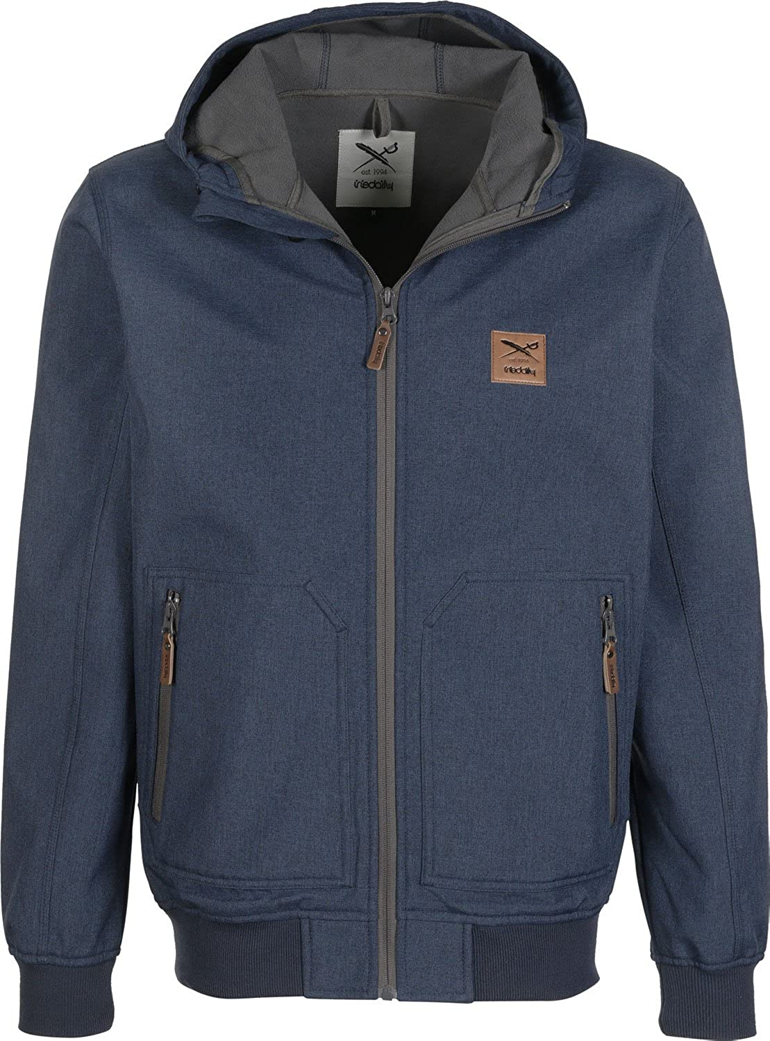 iriedaily Softshelljacke Men SOBER FLAG JACKET Greyblue kaufen