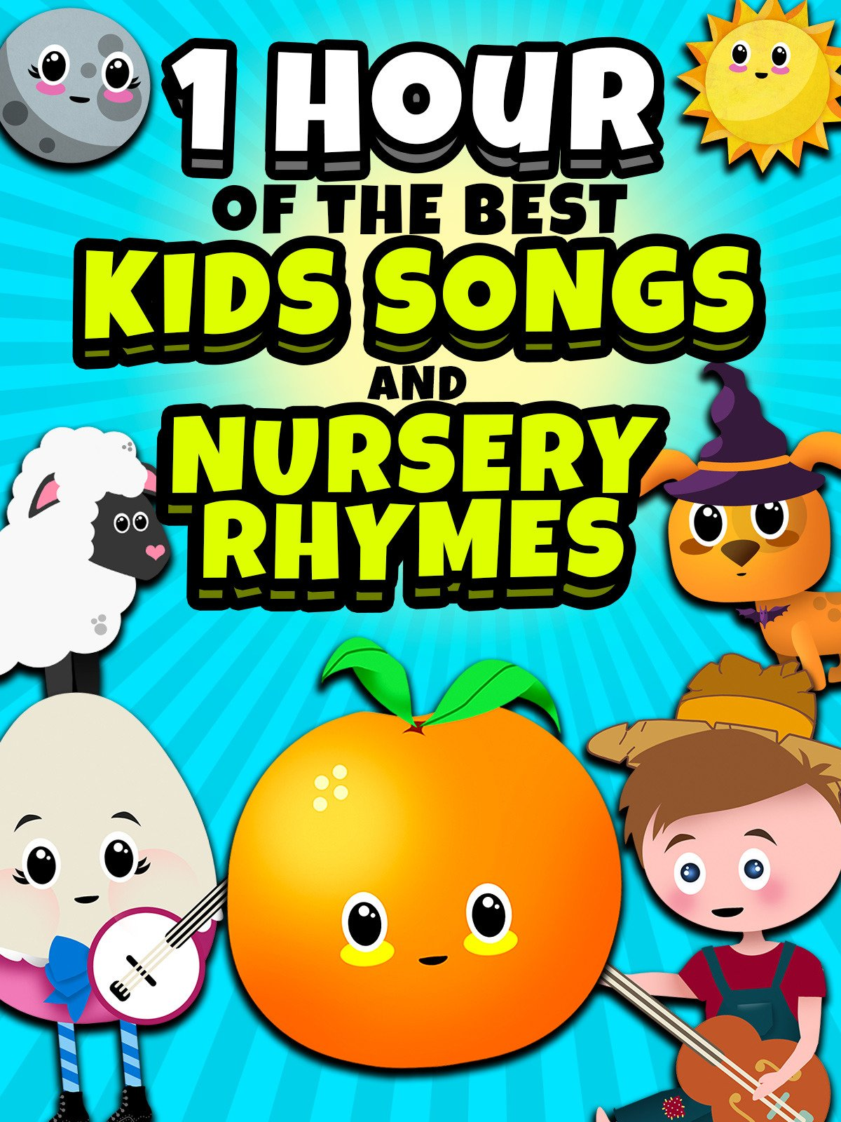1 Hour of the Best Kids Songs and Nursery Rhymes! on Amazon Prime Video UK