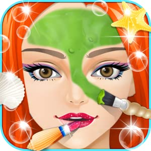 Little Mermaid Salon - Girls Games by 6677g ltd