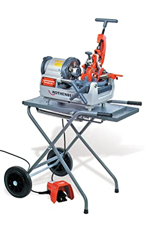Rothenberger 63005 50R Portable Compact Threader Machine only (Tamaño: 1)