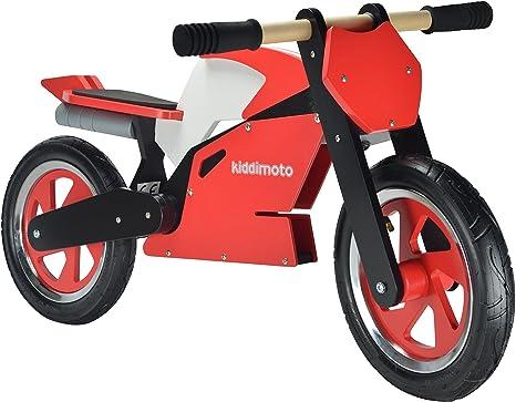 Kiddimoto - 916/114 - Vélo et Véhicule pour Enfant - Superbike Red White