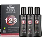 Tutanat Treatment Kit - Formaldehyde free, includes Shampoo 100ml/3.38oz, Keratin Treatment 100ml/3.38oz, Keratin Mask 100ml/3.38oz
