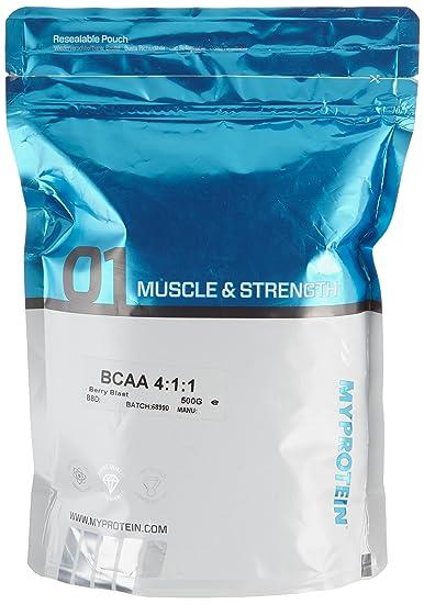 Myprotein BCAA 4:1:1 Berry Blast, 1er Pack (1 x 500 g)