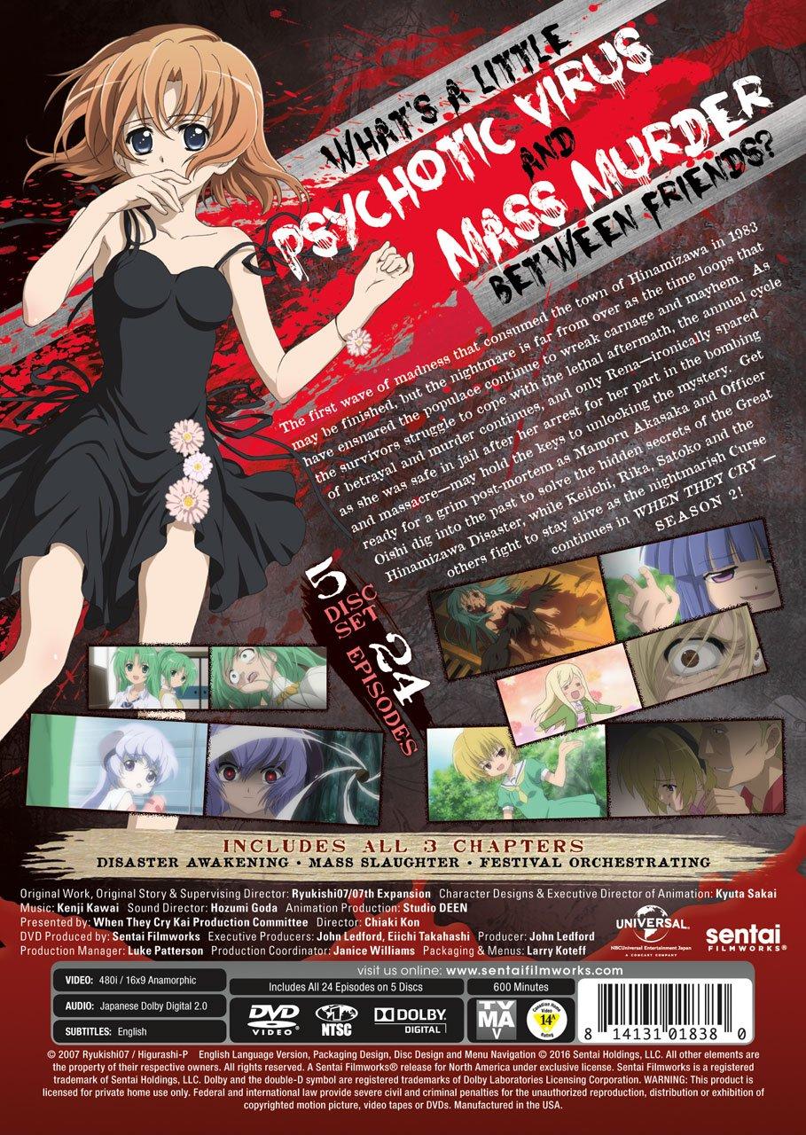 When They Cry Higurashi No Naku Koroni Kai Complete Collection Fandom Post Forums