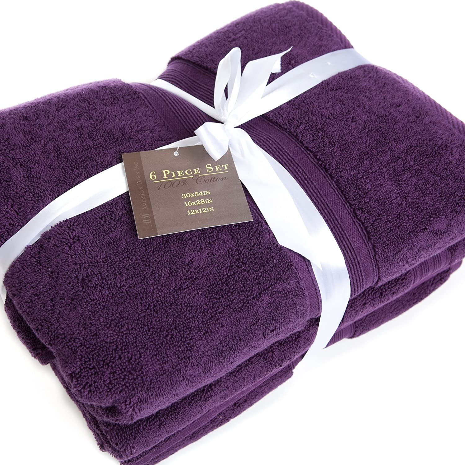 Dark Purple Towel Set