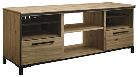 Dexifield LG TV Stand w/Fireplace Option