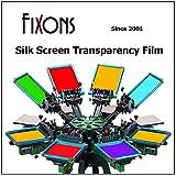 Waterproof Inkjet Screenprinting Film, Silkscreen Film 17 x 22 (100 Sheets) (Color: Milky, Tamaño: 100 Sheets)