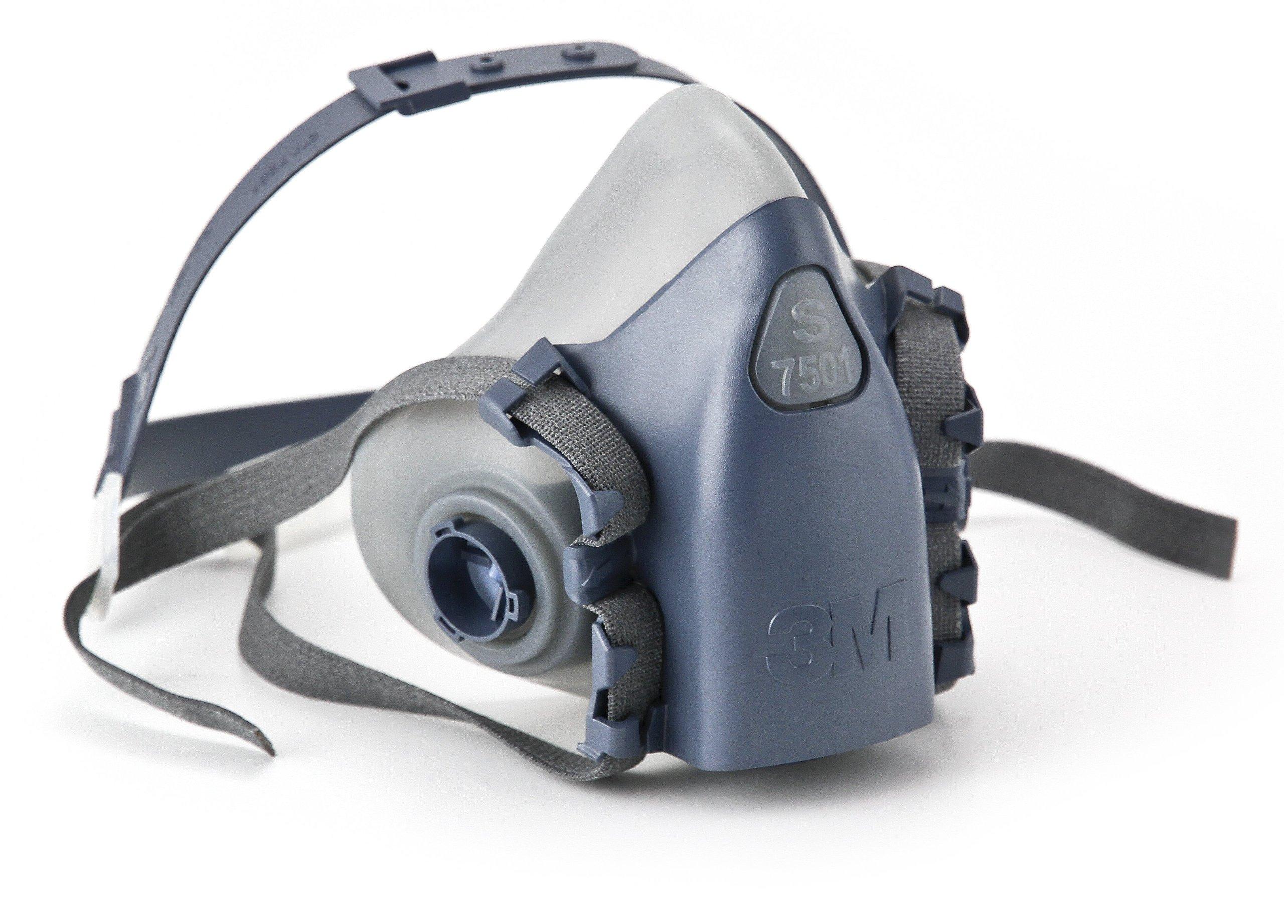 3M Medium Half Facepiece Reusable Respirator 7502/37082(AAD) Respiratory Prot...   eBay