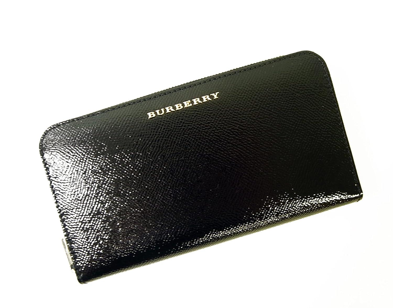 224db1e53e96 BURBERRY☆長財布☆♪ラウンドファスナー レディス (ブラック) 3930