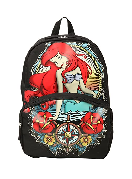 Disney The Little Mermaid Ariel Tattoo Backpack
