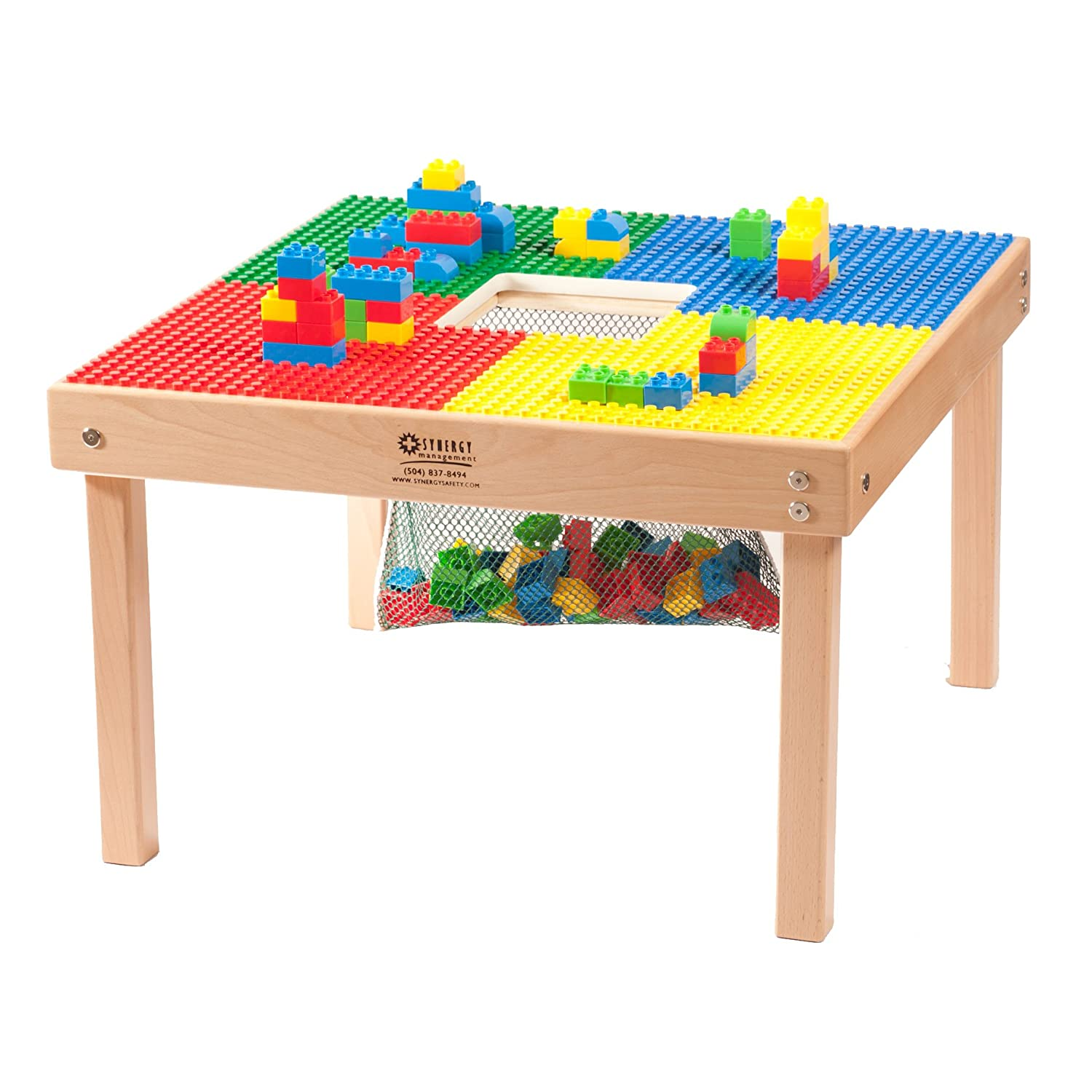 LEGO DUPLO COMPATIBLE PREMIUM QUALITY MAPLE WOOD TABLE 27