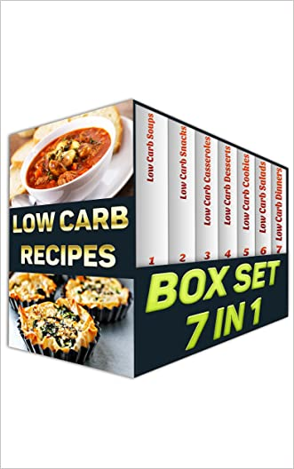Low Carb BOX SET 7 IN 1: 165 Amazing Low Carb Recipes You Will Love!: (low carbohydrate, high protein, low carbohydrate foods, low carb, low carb cookbook, low carb recipes)