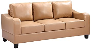 Glory Furniture G621-S Living Room Sofa, Tan
