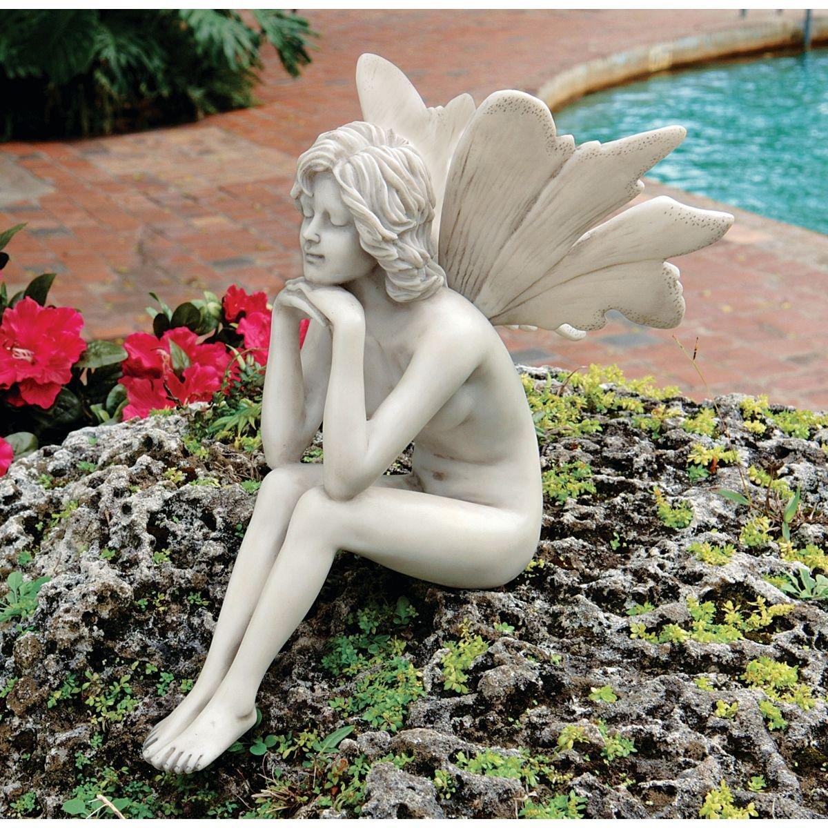 Pondering Fairy Statue