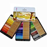 Professional Premium Numbered 72 Colored Pencils Set Schpirerr Farben – Oil Based Soft Core, Ideal for Adults, Artists, Sketchers & Children – Coloring Sketching & Doodling (Color: 72 Assorted colors, Tamaño: 11