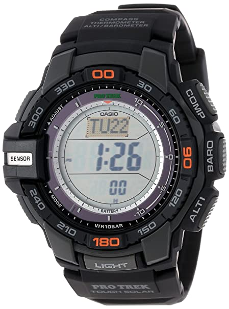 Casio Men's PRG-270-1 Protrek Triple Sensor Multi-Function Digital Watch-奢品汇 | 海淘手表 | 腕表资讯
