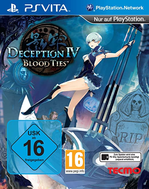 Deception IV: Blood Ties, PS Vita